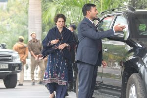 'No security breach by police, Priyanka Gandhi violated protocol during UP visit': CRPF