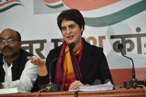 Saints in UP slam Priyanka Gandhi over her 'saffron' remark, accuse her of bringing politics into religion