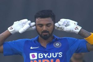 'Let it stay mystery,' says KL Rahul on his unique celebration after century in 2nd ODI against WI