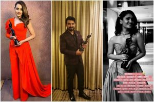Filmfare Awards South 2019 ends on good note; Rangasthalam and others win big; check out the full winners' list