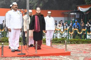 Congress marks 135th foundation day, says always 'India first' for party