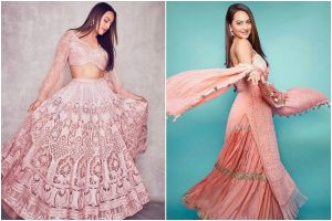 Sonakshi Sinha opts 'Pink look' for Dabangg 3 promotions; fans go 'wow'