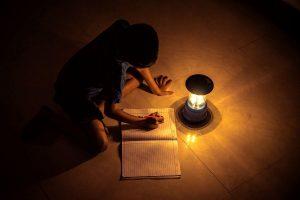 India donates solar-powered study lamps to marginalised Palestinian school children