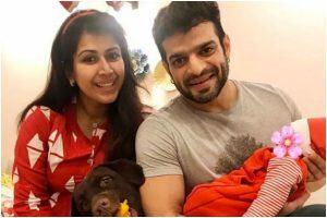 Karan Patel shares first glimpse of daughter Mehr