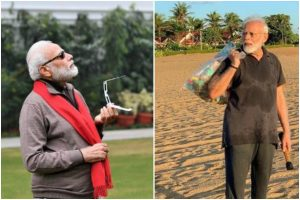 PM Modi pic watching solar eclipse goes viral; Twitter has the best memes