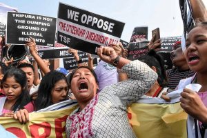 Internet shut down, two-month-old baby dies amid anti-CAB protests in Tripura