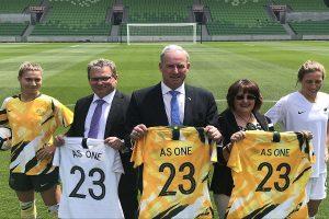 Australia, New Zealand submit bid to co-host FIFA Women's World Cup 2023