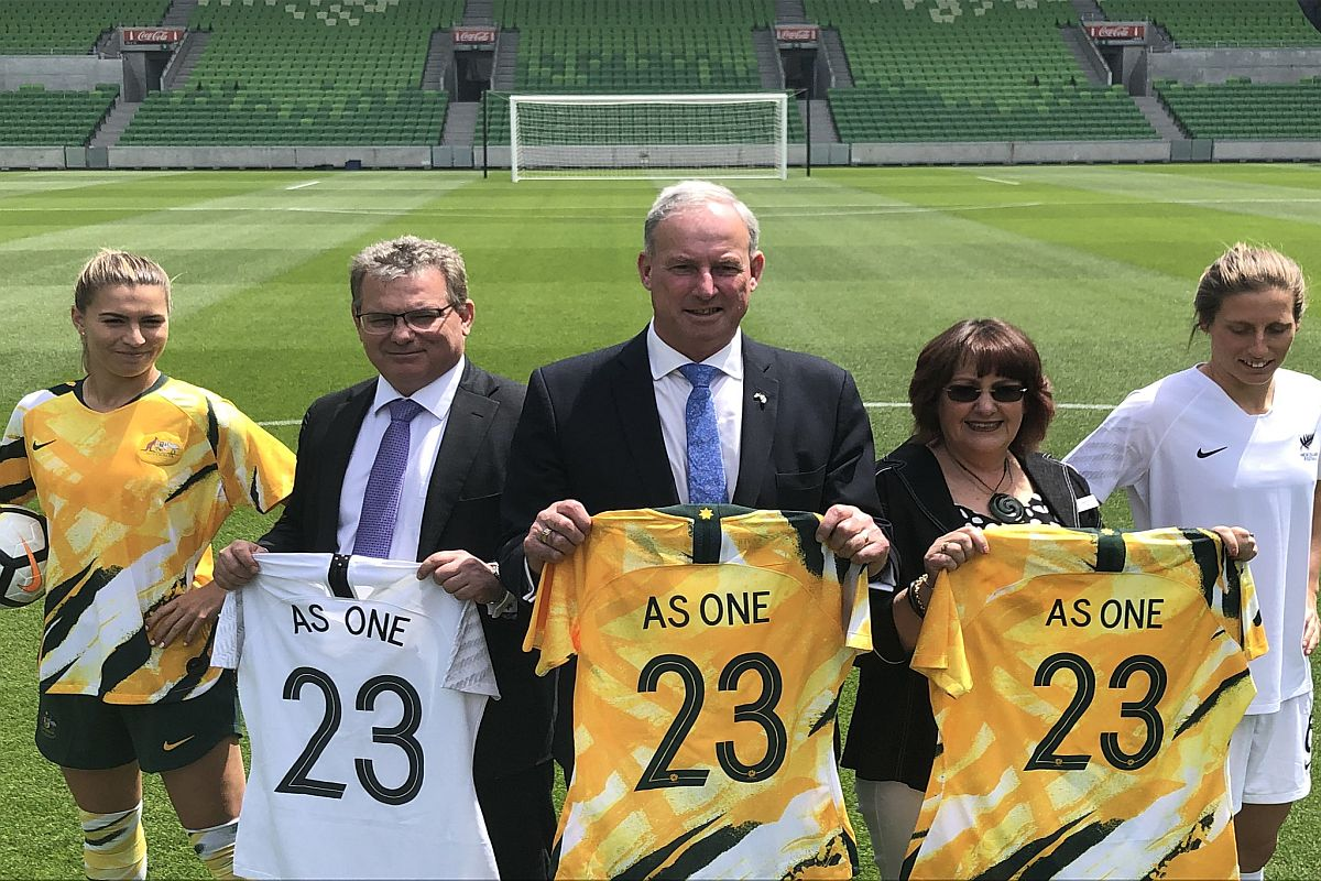 Australia, New Zealand submit bid to co-host FIFA Women's World ...