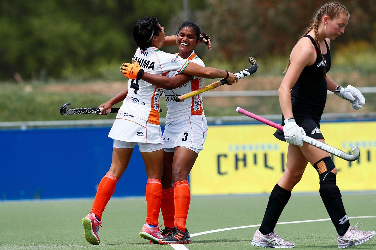 India women's junio hockey team, Hockey India, Australia women's junior hockey team, New Zealand women's junior hockey team