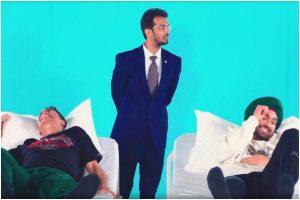 Watch | Akshay Kumar, Diljit Dosanjh experience 'labor pain', salute women
