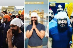 Aamir Khan pays obeisance at Golden Temple amidst Laal Singh Chhadha shoot