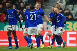 Leicester City outplay Newcastle 3-0 to consolidate second spot