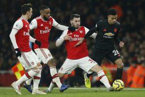 Premier League: Arsenal stun Manchester United 2-0 for 1st win of Mikel Arteta as coach