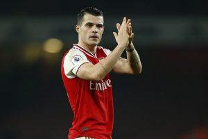 'Granit Xhaka to stay at Arsenal,' says Mikel Arteta