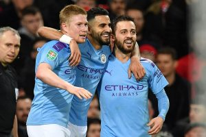 League Cup: Manchester City outplay Manchester United 3-1 in 1st leg semifinal