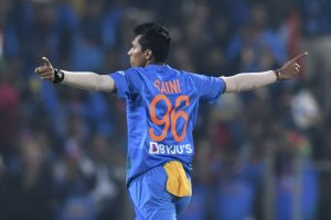 'Bowling fast comes naturally to me,' says Navdeep Saini