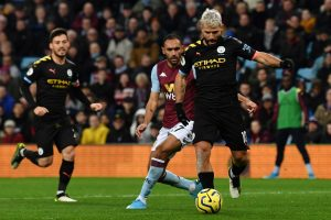 Premier League: Sergio Aguero scores hat-trick as Manchester City drub Aston Villa 6-1