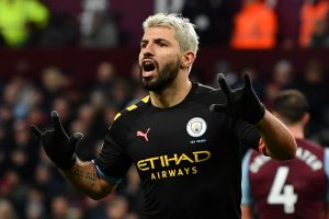 Sergio Aguero becomes highest overseas scorer in Premier League