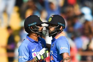 IND vs AUS, 2nd ODI: Shikhar Dhawan departs on 96, India 187/2 after 30 overs