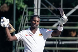 Zim vs SL, 1st Test: Angelo Mathews hits maiden double ton; Zimbabwe trail by 127 runs