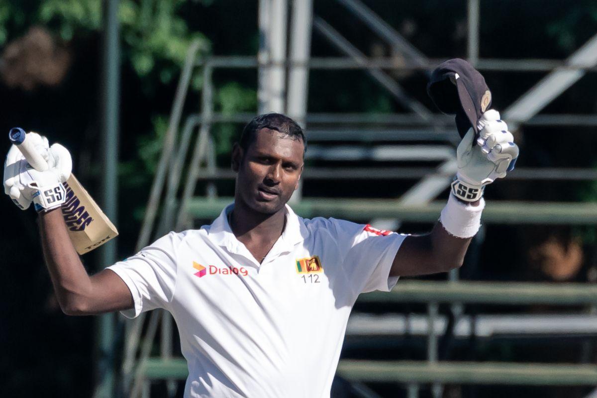 Angelo Mathews, Zimbabwe vs Sri Lanka,