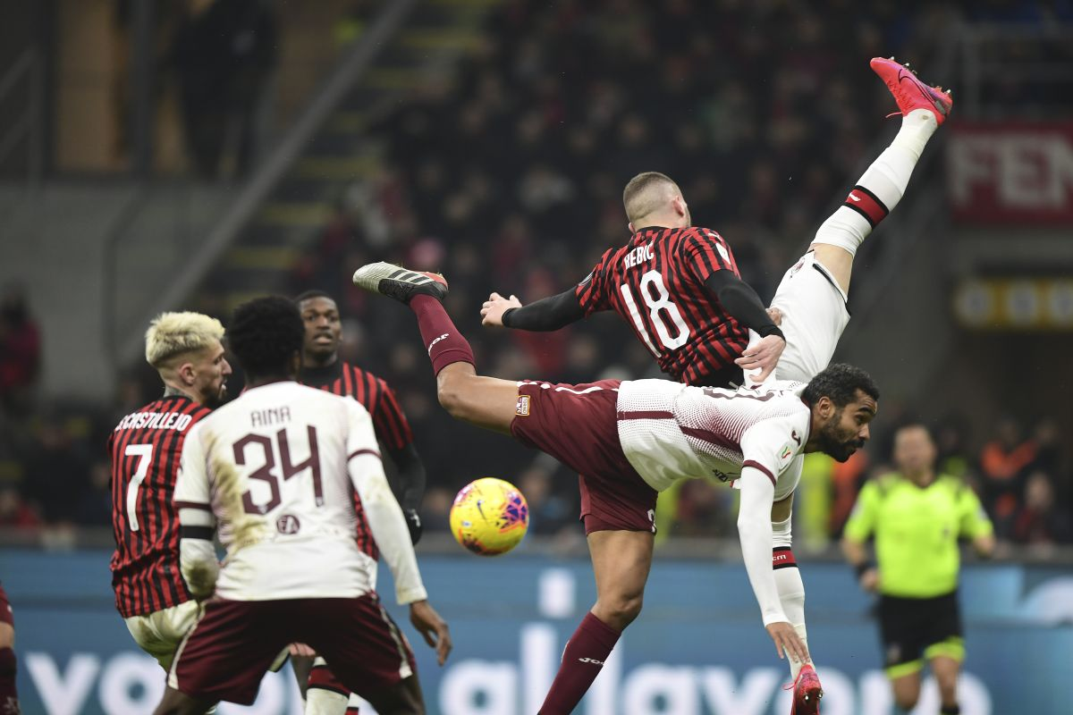 AC Milan, Torino, Coppa Italia,