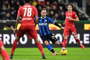 Coppa Italia: Inter Milan ease past Fiorentina 2-1 to reach semis