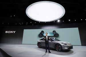 CES 2020: Sony rocks the event with its surprise announcement of electric concept car, 'Vision-S'