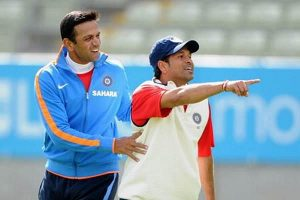 You created huge jams for bowlers: Sachin Tendulkar tells Rahul Dravid