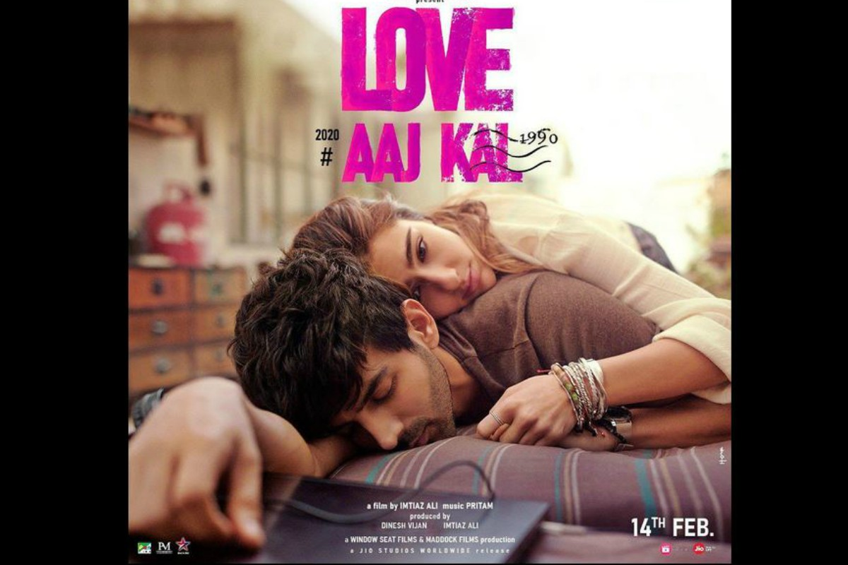 Love Aaj Kal first look poster featuring Sara Ali Khan, Kartik Aaryan out; trailer to be out tomorrow