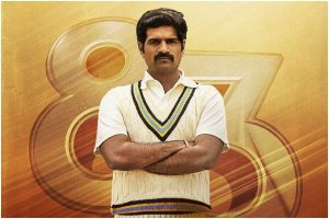 '83 : South actor R Badree as Sunil Valson character poster unveiled