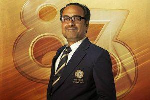 '83 : Pankaj Tripathi as PR Man Singh poster out
