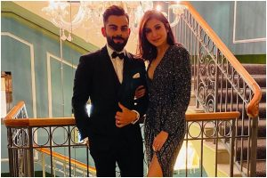Anushka Sharma, Virat Kohli indulge in PDA as they welcome New Year 2020