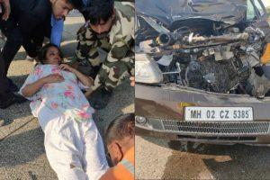 Shabana Azmi injured in road accident on Mumbai-Pune Highway; Javed Akhtar unhurt
