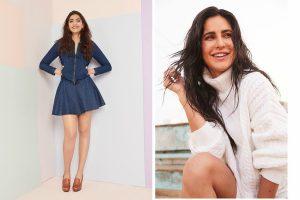 Best dressed celebs: Sonam Kapoor in perfect denims; Katrina Kaif aces wintry white look