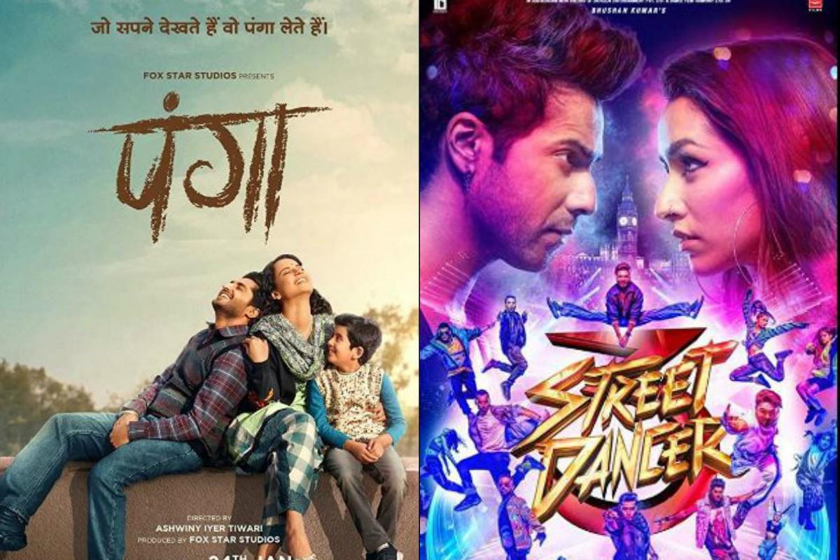 Street Dancer 3D, Panga, Panga box office, Street Dancer box office, Varun Dhawan, Shraddha Kapoor, Kangana Ranaut, Richa Chadha, Jassie Gill