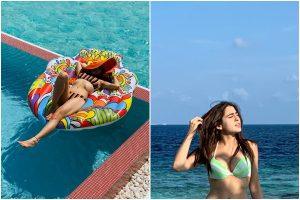 Sara Ali Khan's bikini pics soar up temperatures on social media