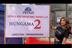 Shilpa Shetty begins shooting for Priyadarshan's 'Hungama 2'