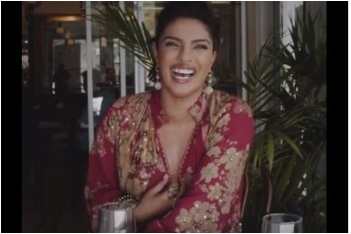Priyanka Chopra thanks God and everyone who blessed her life as she rings in 2020