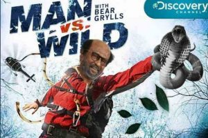 Rajinikanth to shoot with Bear Grylls for Man Vs Wild