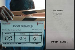 Abhishek Bachchan, Chitrangada Singh begin shoot of 'Bob Biswas'