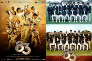 '83 : First look posters of Ranveer Singh film unveiled