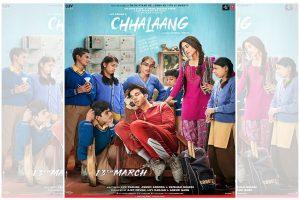 Nushrat Bharucha, Rajkummar Rao starrer 'Chhalaang' first look poster out