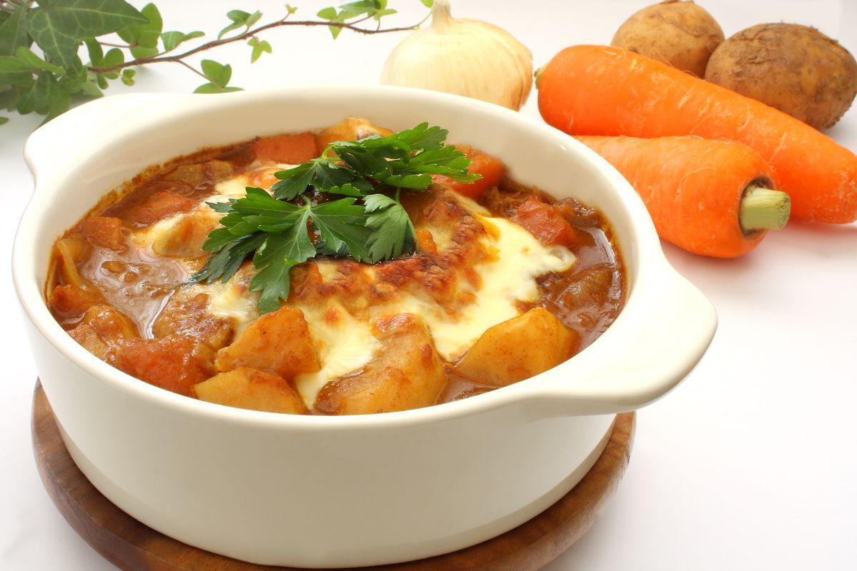 Curry Potatoes in Yogurt Gravy, Yogurt Gravy, Potatoes recipe, Kashmiri dum aaloo, French fries