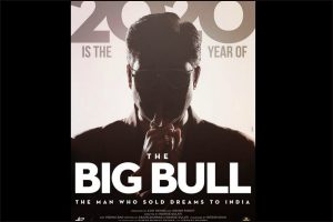 Abhishek Bachchan's first look from 'The Big Bull' out!
