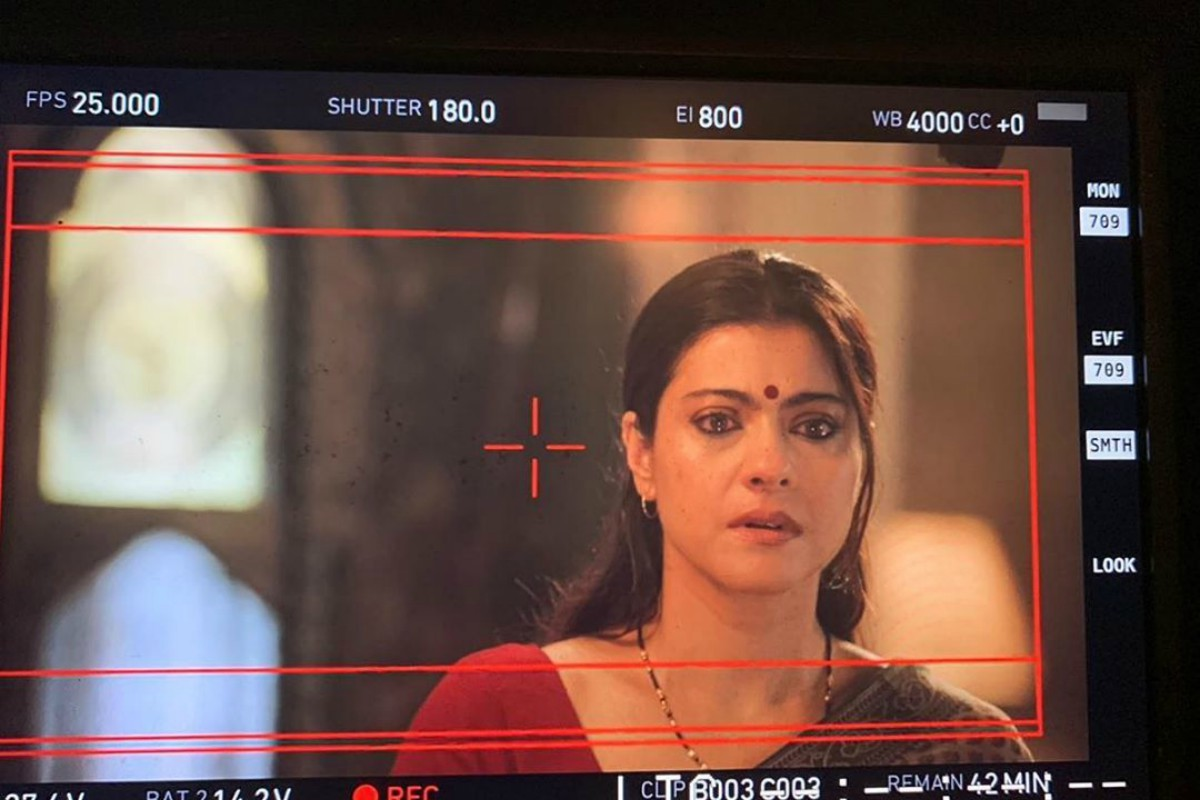 Kajol shares first look from upcoming short film 'Devi'