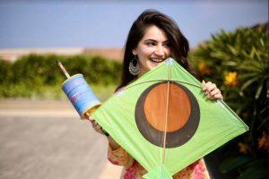 'Yeh Saali Aashiqui' actress Shivaleeka Oberoi enjoys flying kites on Makar Sankranti