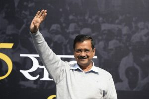 After waiting for 6 long hours in queue, Arvind Kejriwal files nomination for Delhi polls