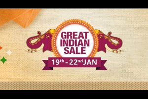 Amazon 'Great Indian Sale' returns, starts from January 19