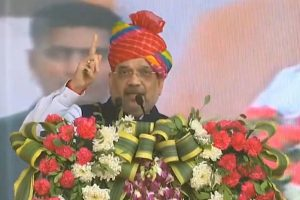 'Won't budge an inch on CAA; Cong playing vote-bank politics': Amit Shah in Jodhpur